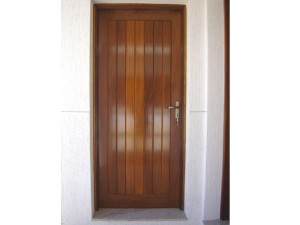 Porta externa lambri na vertical