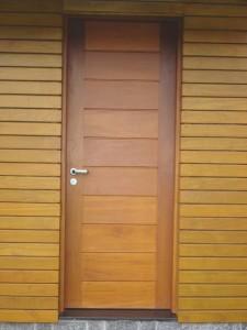 Porta externa lambri horizontal