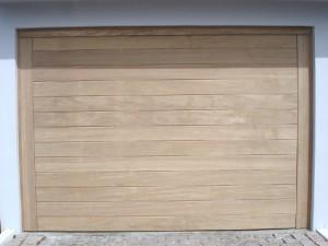 Portão basculante lambri horizontal
