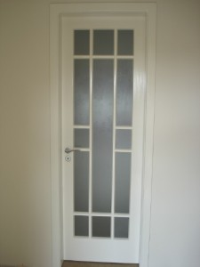 Porta interna para vidros